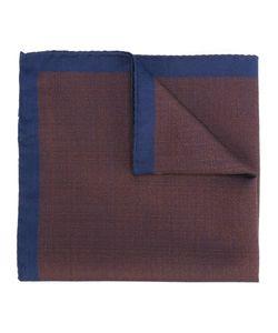 FASHION CLINIC | Contrast Trim Pocket Square Silk