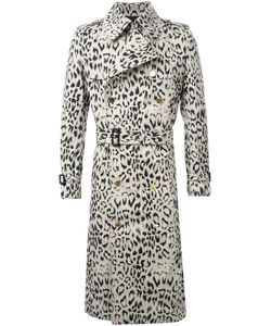 DRESS CAMP | Dresscamp Animal Print Trench Coat 46 Cotton/Polyester