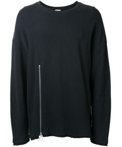 CHAPTER | Front Zip Sweatshirt Small Cotton