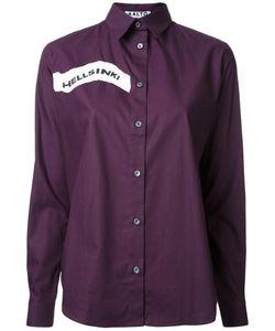AALTO | Hellsinki Print Shirt 34 Cotton