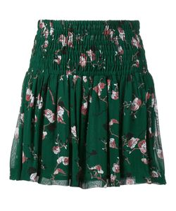 Ganni | Pine Grove Leaves Print Skirt 40 Viscose