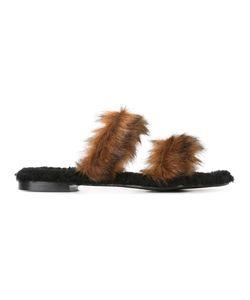 Avec Modération | Vail Slippers 39 Artificial Fur/Calf Leather/Rubber