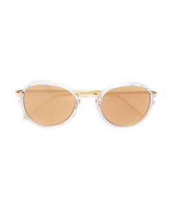 Linda Farrow | Round Frame Sunglasses Acetate/Metal