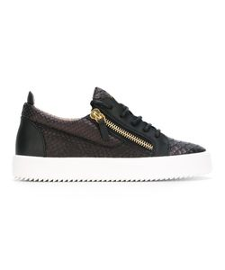 Giuseppe Zanotti Design | Frankie Low-Top Sneakers 39 Leather/Rubber/Calf
