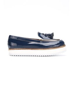 EGREY | Panelled Flatforms Womens Size 39 Leather 30922411741769