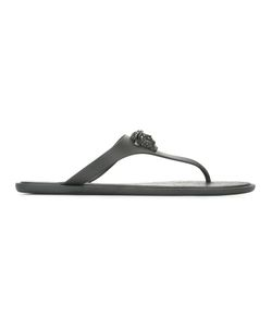 Versace | Medusa Palazzo Thong Sandals 36 Polyurethane/Rubber