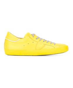 Philippe Model | Lace-Up Sneakers 40 Calf Leather/Cotton/Rubber Cllurv1011760230