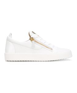 Giuseppe Zanotti Design | Frankie Low-Top Sneakers 39.5 Leather/Rubber/Calf