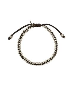 M. COHEN | Stamped Beaded Bracelet