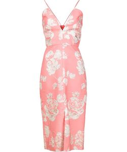 CHRISTIAN SIRIANO | Brocade Dress 8 Polyester