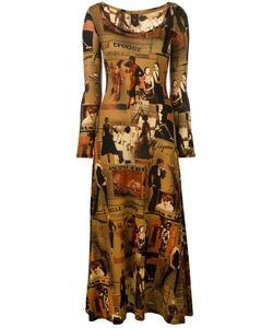 JEAN PAUL GAULTIER VINTAGE | Printed Dress 40
