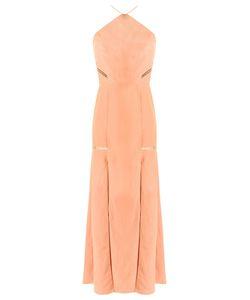 GIULIANA ROMANNO | Panelled Long Dress 40 Viscose/Linen/Flax/Polyester