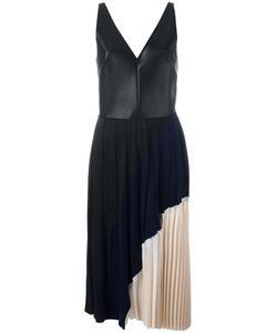 Cedric Charlier | Cédric Charlier Pleated Dress 42 Polyester