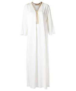 Adriana Degreas | Long Panelled Dress Size P Viscose