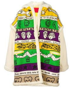 JC DE CASTELBAJAC VINTAGE | Graphic Printed Oversized Jacket Medium
