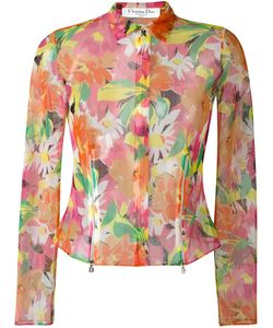 Christian Dior Vintage | Sheer Print Jacket 38