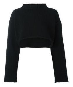 YOHJI YAMAMOTO VINTAGE | Knitted Crop Jumper Medium Wool