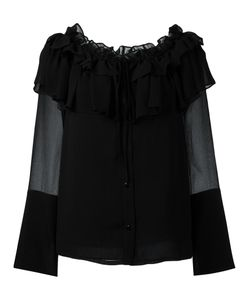 Opening Ceremony | Ruffled Blouse 4 Silk