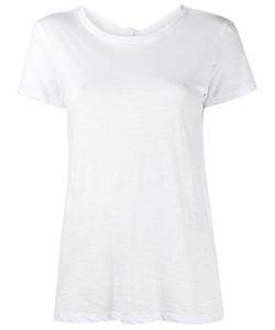 Proenza Schouler   Tied Back T-Shirt Small Cotton