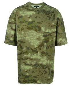 YEEZY | Camouflage Print T-Shirt Medium Cotton