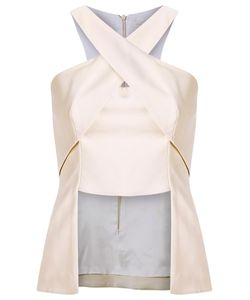 GIULIANA ROMANNO | Panelled Blouse 38 Acetate/Polyester