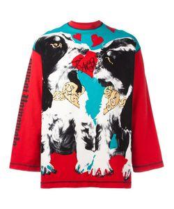 KANSAI YAMAMOTO VINTAGE | Dog Print Sweatshirt Large