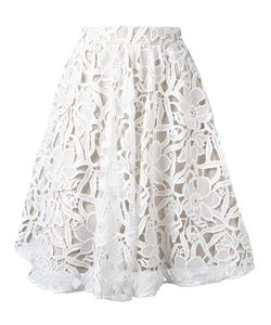 Alice + Olivia | Lace Skirt 8 Polyester/Nylon