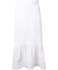 CHRISTIAN SIRIANO | Circle Lace Skirt 8 Cotton
