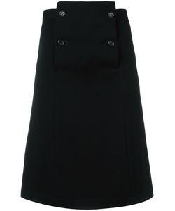 Comme Des Garcons | Comme Des Garçons Vintage A-Line Knee Length Skirt Small
