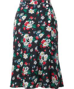Ines De La Fressange | Print Envelope Skirt 34