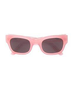 SUN BUDDIES   Type 06 Square Frame Sunglasses Adult Unisex Acetate