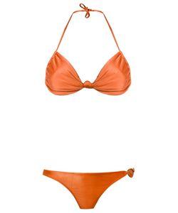 Adriana Degreas | Triangle Bikini Set Medium Spandex/Elastane/Polyamide