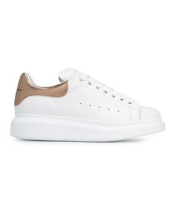 Alexander McQueen | Extended Sole Sneakers 39 Leather/Suede/Rubber