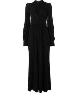 Alexander McQueen | Long Wrap Dress 44 Viscose/Spandex/Elastane