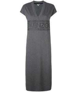 Kenzo | Logo Midi Dress Xs Cotton