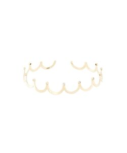 JAGGA | 18kt Crown Choker Necklace