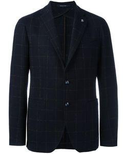 Tagliatore | Patch Pockets Blazer 52 Virgin Wool/Polyamide/Cupro