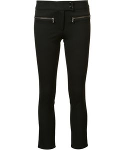 Veronica Beard | Slim-Fit Cropped Trousers 4 Polyester/Viscose