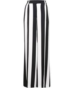 MSGM | Striped Wide-Legged Trousers 40 Viscose