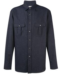 Brioni | Flap Pockets Shirt Xxxl Cotton