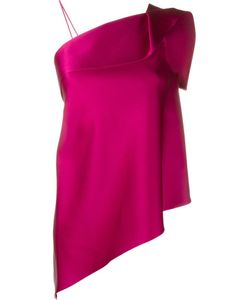 Roland Mouret | Iver Asymmetric Double Faced Top 12