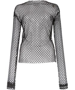 Les Animaux | Stretch Mesh Top 38 Polyester/Spandex/Elastane