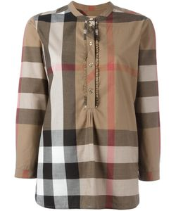Burberry | House Check Print Shirt 4 Cotton