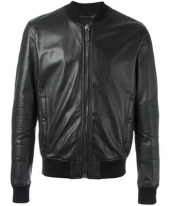 Philipp Plein | Grenade Bomber Jacket Xl Sheep Skin/Shearling/Viscose