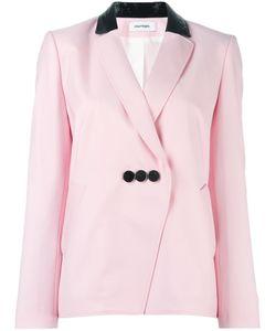 Courreges | Courrèges Three Button Blazer 38 Wool/Cotton/Polyurethane/Cupro