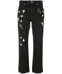 Alexander McQueen | Obsession Straight-Leg Jeans 38 Cotton