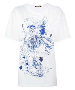 Roberto Cavalli | Dragon Print T-Shirt 40 Cotton