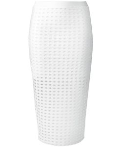 T By Alexander Wang | Circular Hole Skirt Medium