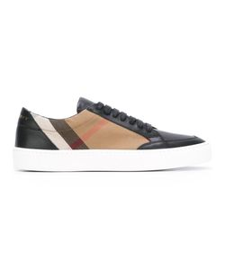 Burberry | House Check Sneakers 39 Calf Leather/Canvas/Leather/Rubber 404005611758018