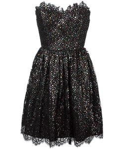 Saint Laurent | Strapless Cocktail Dress 38 Cotton/Polyamide/Silk